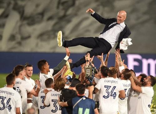 Ngôi vương La Liga gọi tên Real Madrid