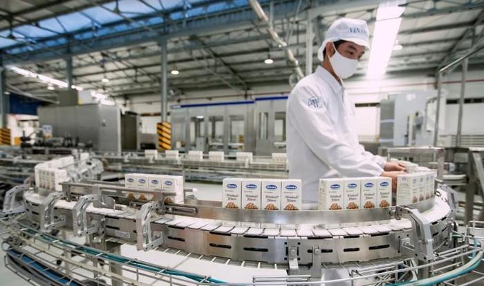 Doanh thu nội địa và xuất khẩu 6 tháng đầu năm của Vinamilk tăng trưởng hai con số