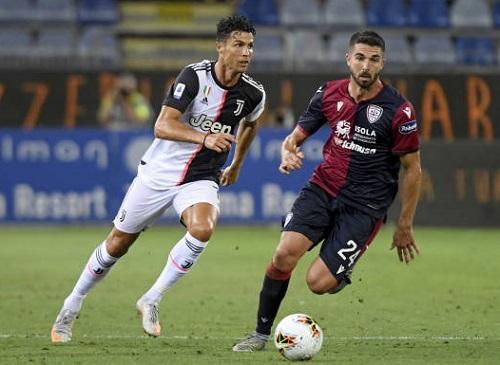 Cagliari 2-0 Juventus: C.Ronaldo 'giương cờ trắng'