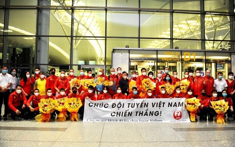 Đoàn thể thao Việt Nam lên đường dự Olympic Tokyo 2020