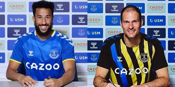 Everton chiêu mộ thành công cùng lúc 2 tân binh