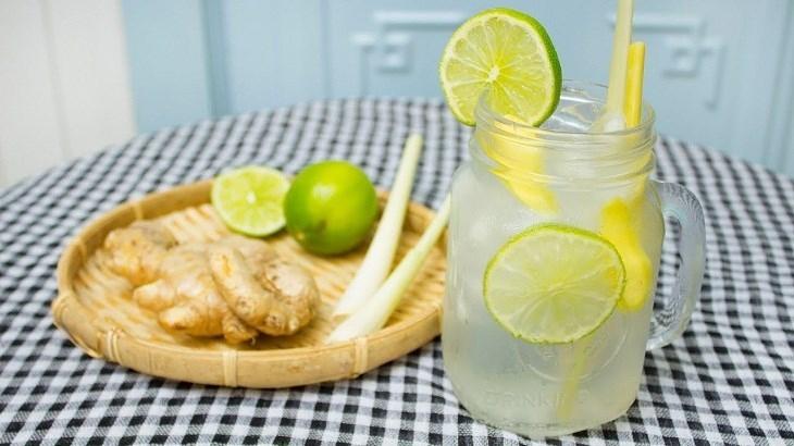 Cách làm nước chanh sả gừng thanh lọc cơ thể, giảm cân đúng cách