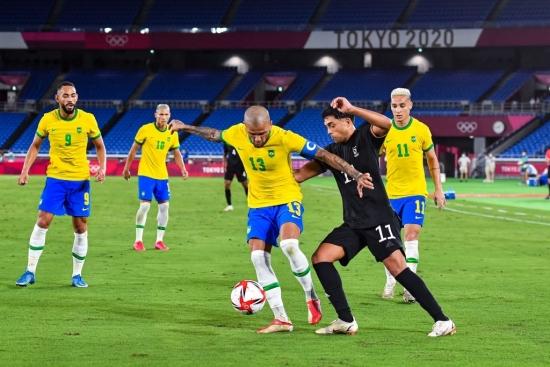 Olympic Brazil 4-2 Olympic Đức: Đẳng cấp nhà vô địch