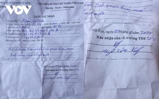 """Nhiều người ở Hà Nội sử dụng giấy xác nhận kiểu """"đối phó"""" để được đi lại"""