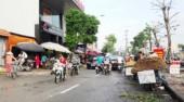 Chợ cóc ở phố Vũ Tông Phan đã hoạt động trở lại