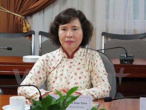 Bà Hồ Thị Kim Thoa bất ngờ nộp đơn xin thôi việc