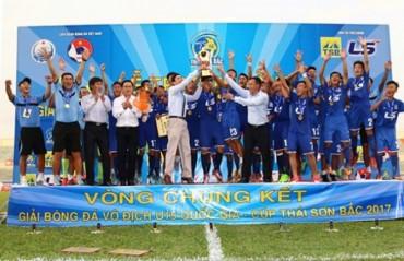 U15 PVF lên ngôi vô địch U15 Quốc gia