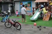 Hà Nội: Bãi đất bỏ không 20 năm thành sân chơi cộng đồng!