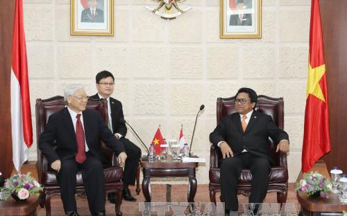 Việt Nam - Indonesia sẽ làm sâu sắc hơn nữa quan hệ đối tác chiến lược