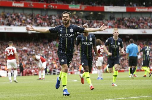 Arsenal 0-2 Man City: Xứng danh nhà vô địch