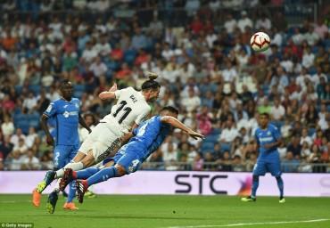 Real Madrid 2-0 Getafe: Không CR7 đã có G.Bale