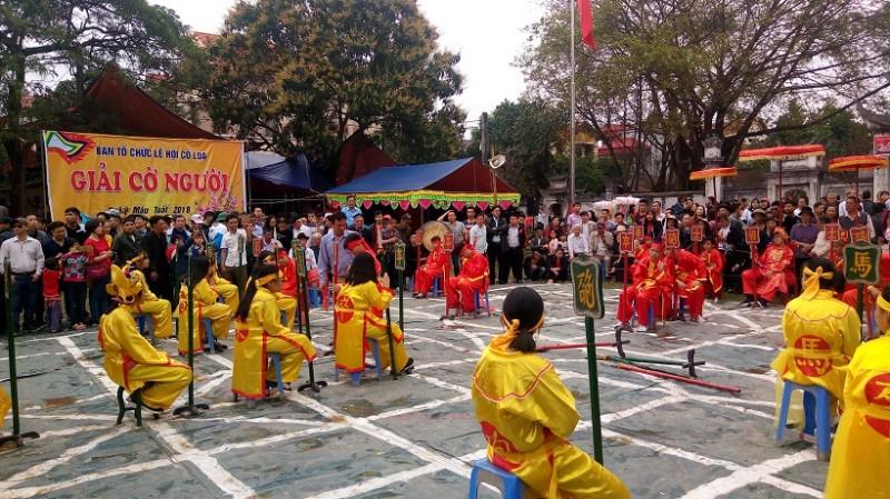 Hoạt động lễ hội đã phát huy được vai trò chủ thể của nhân dân (ảnh: Bảo Thoa)