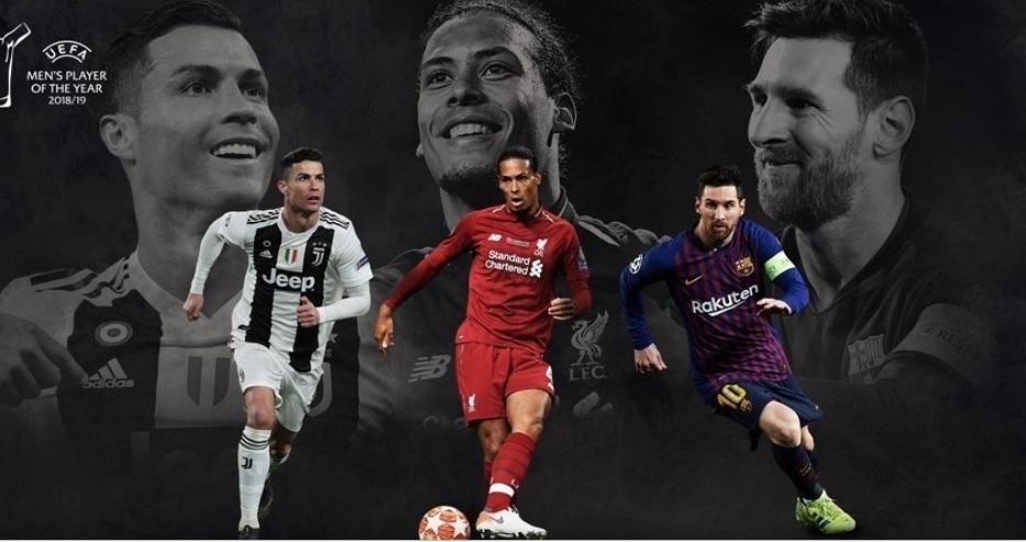 UEFA công bố danh sách 3 cầu thủ xuất sắc nhất châu Âu mùa giải 2018-19