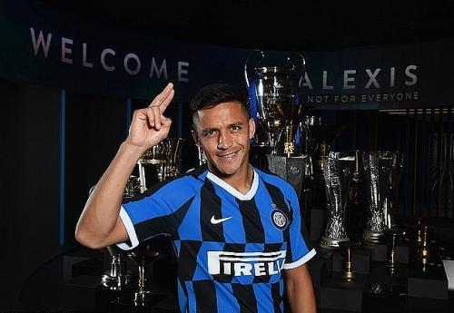 Sanchez chính thức tái ngộ Lukaku ở Inter