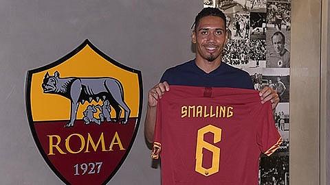 Chris Smalling bất ngờ rời Man United cập bến AS Roma