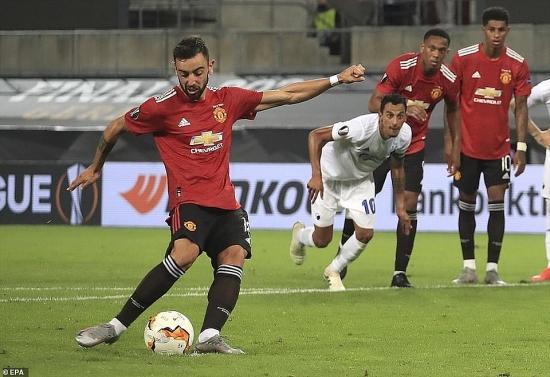 M.U 1-0 Copenhagen (hiệp phụ): Khó hơn dự tính