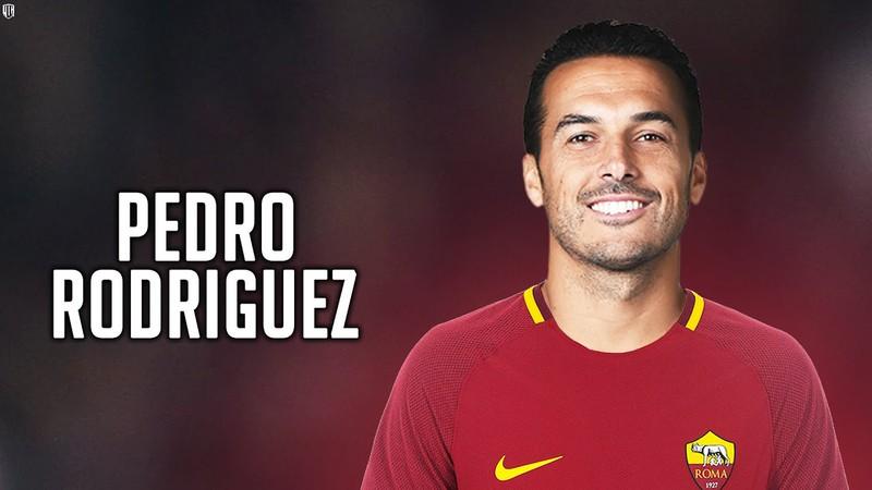 Pedro chính thức đầu quân cho Roma