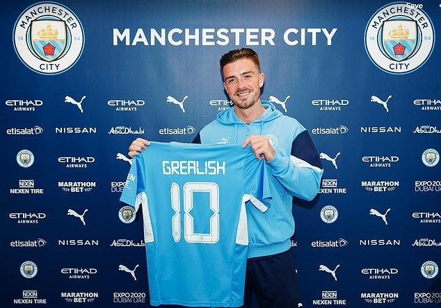Grealish phá kỷ lục chuyển nhượng khi gia nhập Man City
