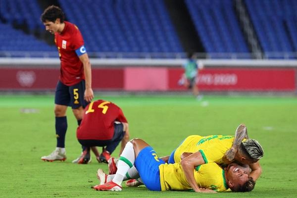Brazil bảo vệ thành công huy chương vàng môn bóng đá nam Olympic
