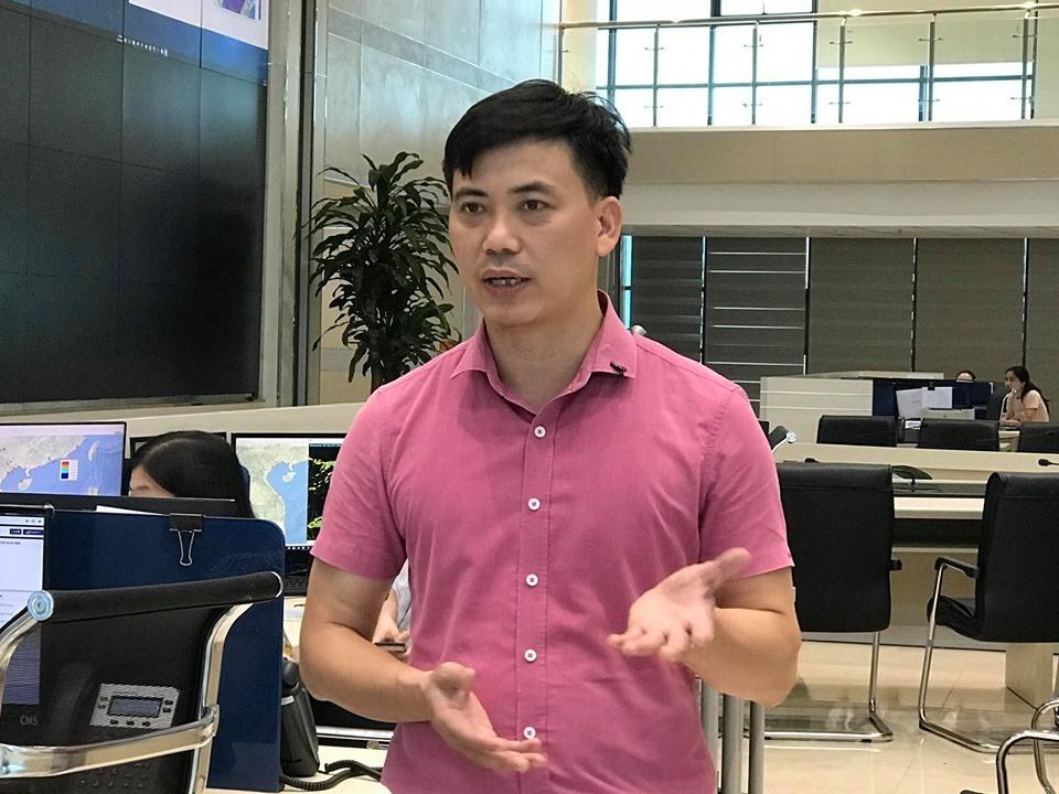 Ông Nguyễn Văn Hưởng, Trưởng phòng Dự báo khí hậu Trung tâm Dự báo Khí tượng Thủy văn Quốc gia.