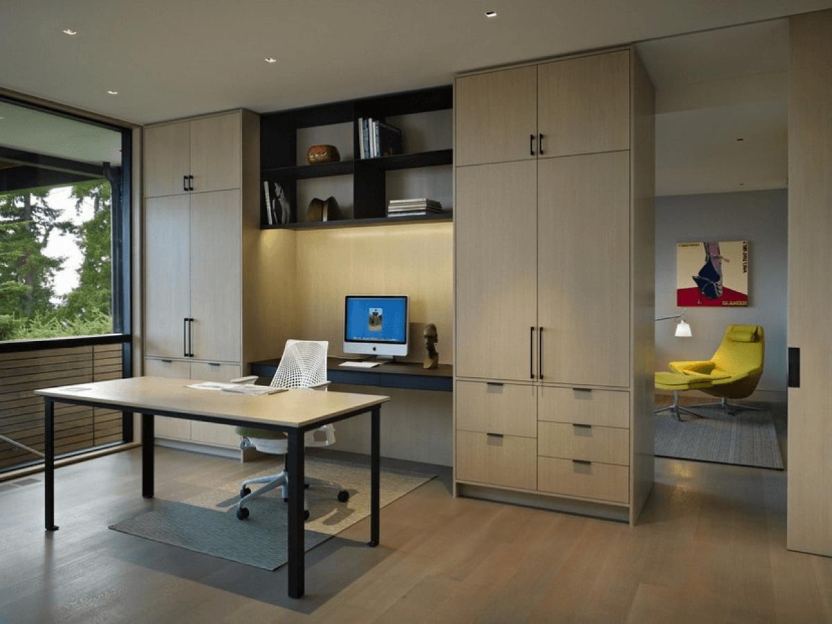 Bố trí góc làm việc tại nhà giúp công việc đạt hiệu quả mùa dịch