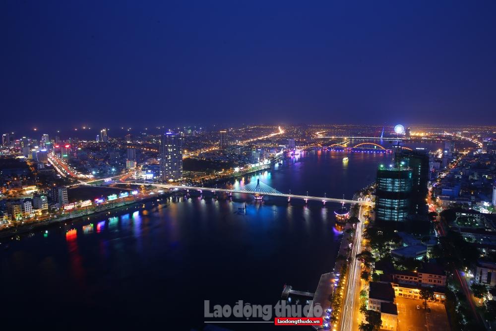 Thành phố Đà Nẵng lung linh khi chưa có dịch bệnh xảy ra