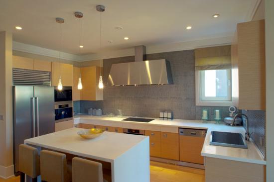 Ý tưởng thiết kế bàn bếp mới mẻ và hiện đại