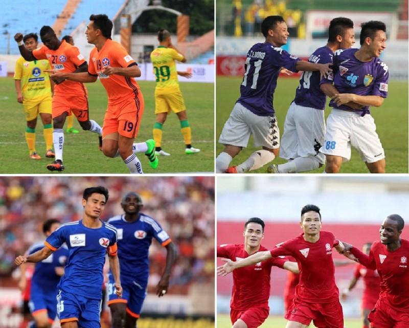 Vòng 24 V-League 2016: Kiềng ba chân