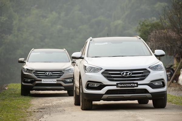 Hyundai Santafe, Tucson và Elantra đồng loạt giảm giá 30 triệu
