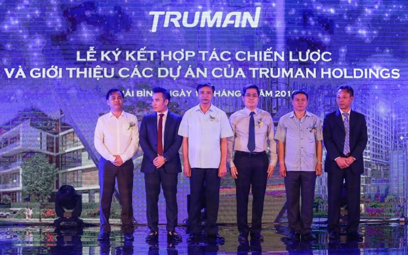 Lễ ký kết hợp tác chiến lược các dự án của Truman Holdings Việt Nam