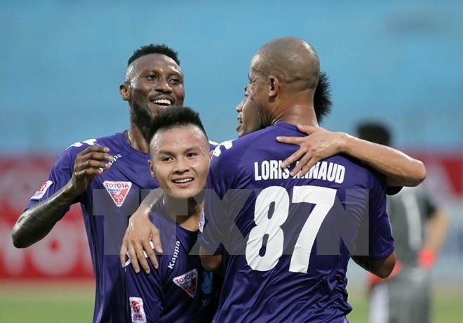 Hà Nội T&T vô địch kịch tính nhờ hơn Hải Phòng 2 bàn thắng