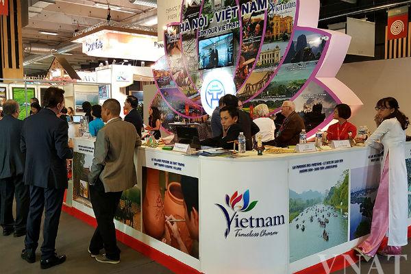 Việt Nam quảng bá du lịch tại hội chợ du lịch quốc tế Top Resa