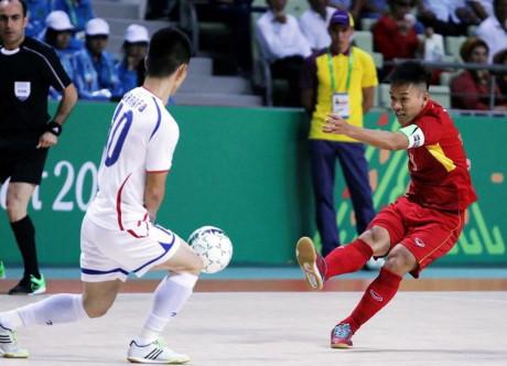 Đội tuyển Futsal Việt Nam vào tứ kết