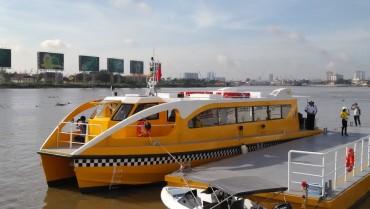 Sau một tháng thử nghiệm, buýt đường sông TP.HCM chuẩn bị đón khách