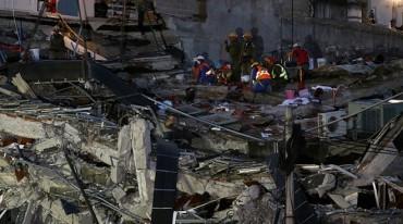 Thủ đô của Mexico lại chao đảo sau trận động đất mạnh 6,1 độ Richter
