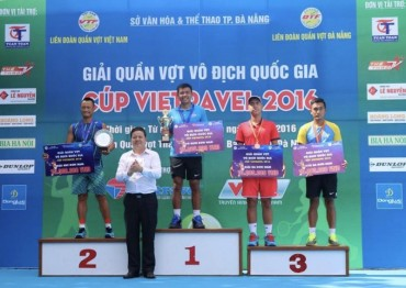 120 VĐV tranh tài tại giải quần vợt vô địch quốc gia