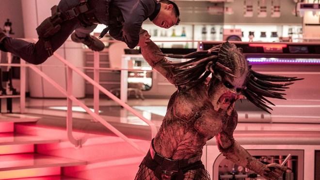 'Kẻ săn mồi' The Predator tái xuất khuynh đảo phòng vé Bắc Mỹ