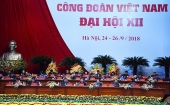 Khai mạc Đại hội XII Công đoàn Việt Nam, nhiệm kỳ 2018-2023
