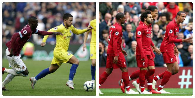 Vòng 6 Ngoại hạng Anh: Chelsea đứt mạch thắng, Liverpool độc chiếm ngôi đầu