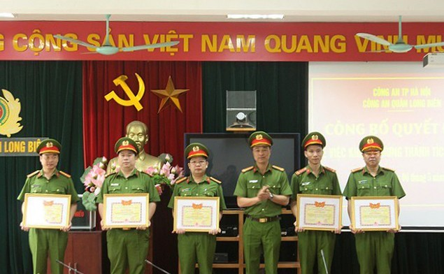 Công an quận Long Biên (Hà Nội): Tăng cường công tác phòng ngừa tội phạm
