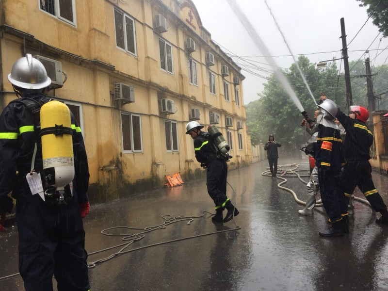 Phòng cháy chữa cháy: Làm tốt công tác bốn tại chỗ