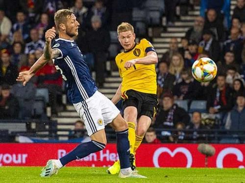 Scotland 0-4 Bỉ: Màn trình diễn siêu đẳng của De Bruyne