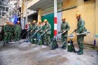 """Xử lý hậu vụ cháy tại Công ty Rạng Đông: """"Hiệp đồng tác chiến"""" bảo đảm môi sinh"""