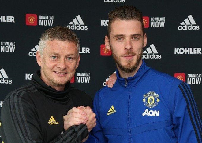 De Gea gắn bó tương lai với Man United