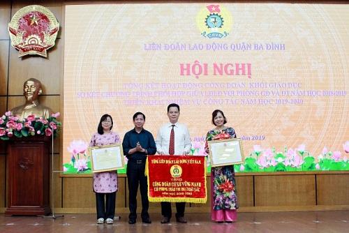 Công đoàn khối Giáo dục quận Ba Đình: Nhiều hoạt động hiệu quả, thiết thực