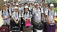11.699 lao động Việt Nam đi làm việc ở nước ngoài trong tháng 8