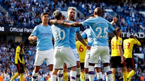 Man City 8-0 Watford: Hủy diệt đội khách