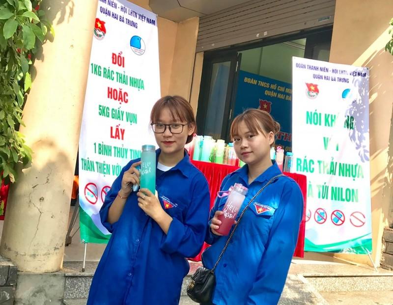 chung tay chong rac thai nhua