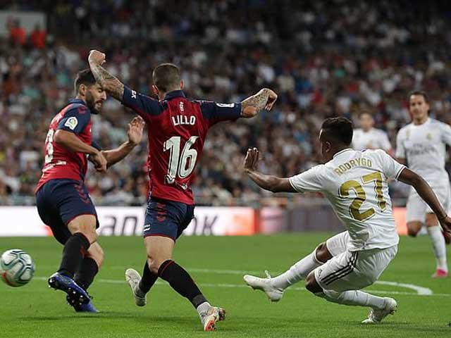 Real Madrid 2-0 Osasuna: 'Kền kền' lần đầu lên đỉnh