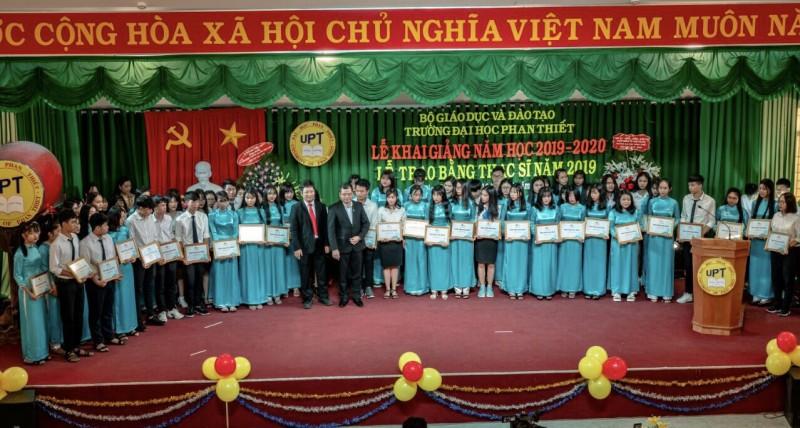 Novaland tiếp tục song hành cùng giáo dục tại Bình Thuận